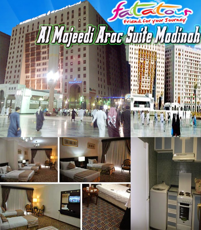 Umroh Promo Murah AlMajeedi Al Majeedi Arac Suite Madinah