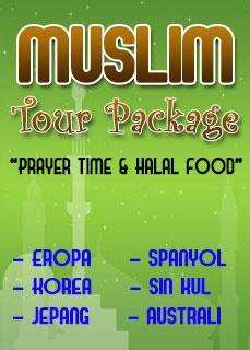 paket muslim tour