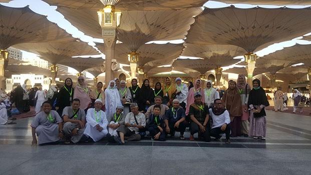 Umroh Promo Murah payung-masjid-nabawi Berkahnya Kota Madinah di Bulan Ramadhan