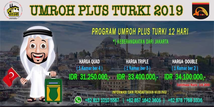 Umroh Promo Murah umroh-plus-turki Jadwal Paket Umroh Promo